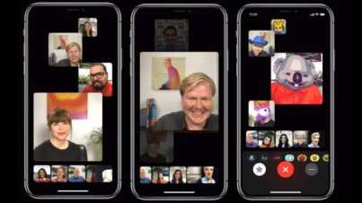 how to make group facetime call on iphone and ipad