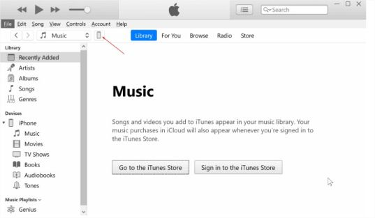 how to backup data to itunes using windows