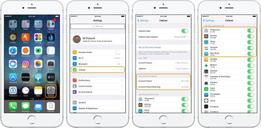 cellular data usage control on iphone,how to data usage on iphone